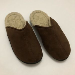 Brown Isotoner Warm and Fuzzy Slippers